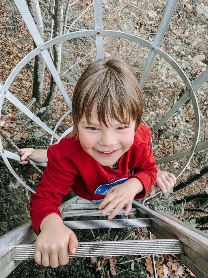 De avontuurlijke laddertjeswandeling